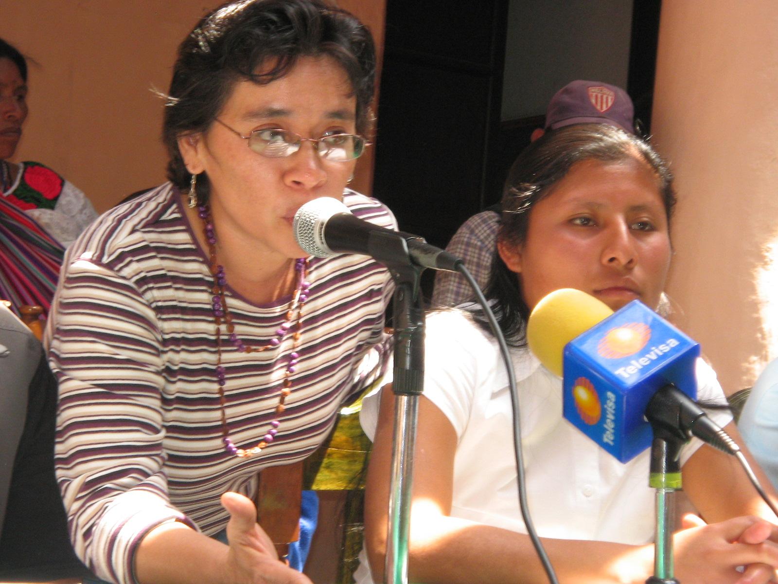 Yolanda Castro mujeres LGBT+ indígenas