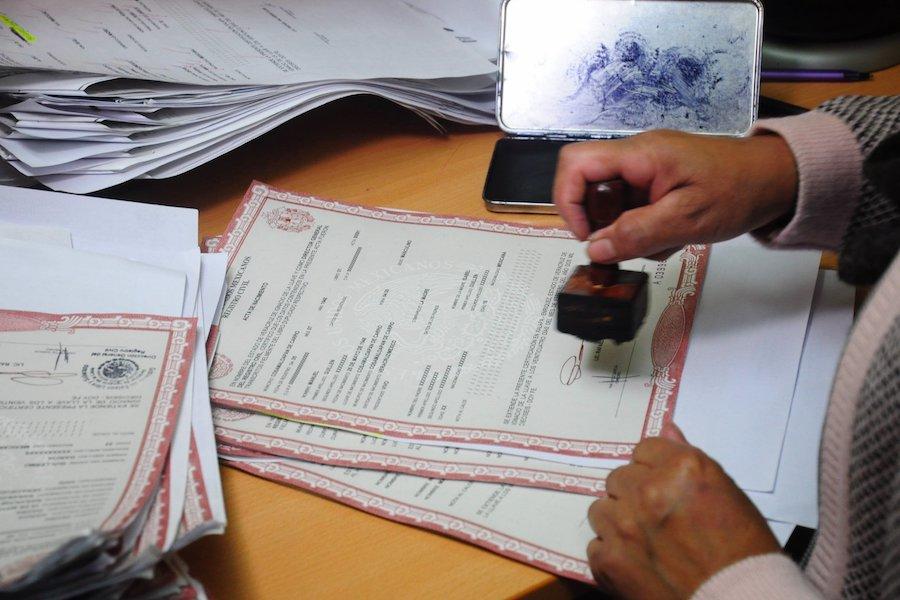 Actas de nacimienti personas trans Registro Civil Quintana Roo