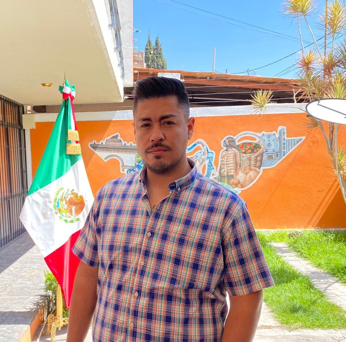 Alan Alcántar candidato