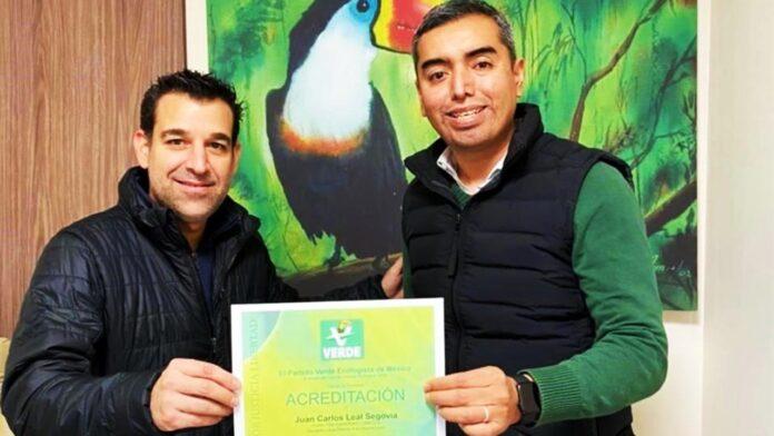 diputado Carlos Leal buscará reelección por el PVEM