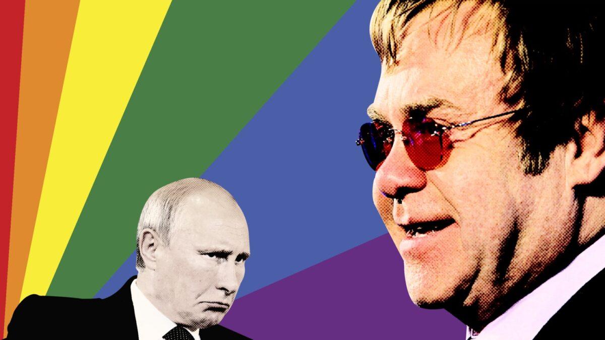 Elton John Vladimir Putin LGBT+ Rusia