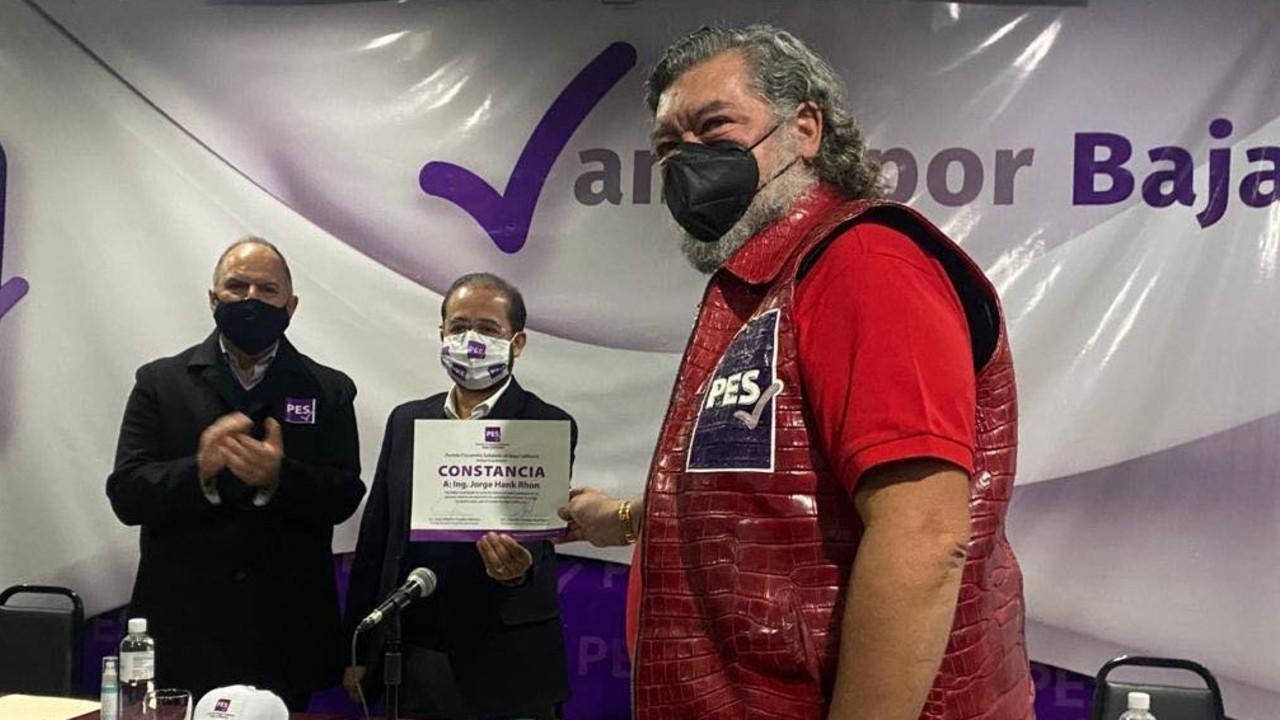Jorge Hank Rhon candidato del PES en Baja California