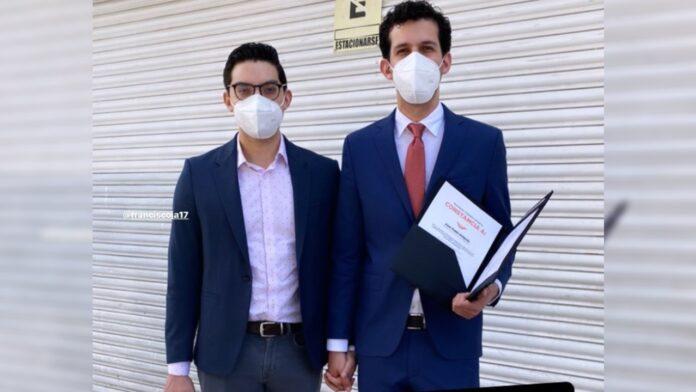 Juan Pablo Delgado candidato gay a alcalde de León
