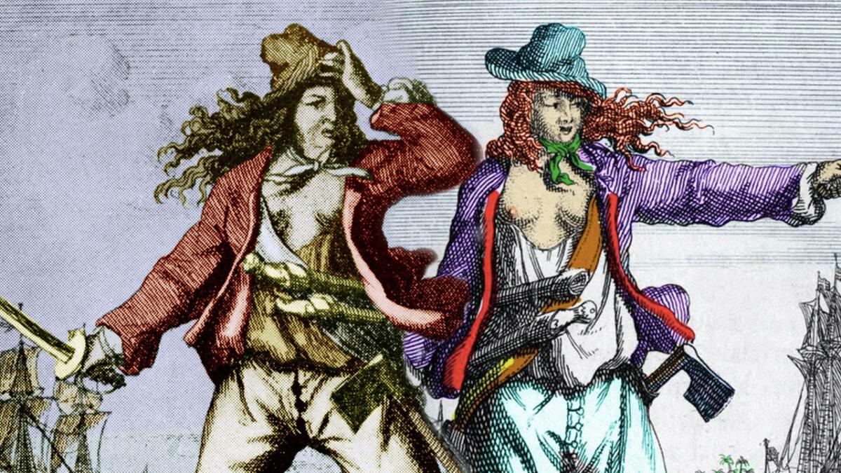 Mary Read y Anne Bonny
