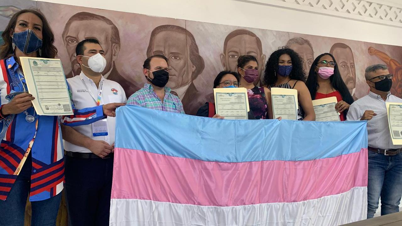 Registro Civil Cancún actas nacimiento personas trans