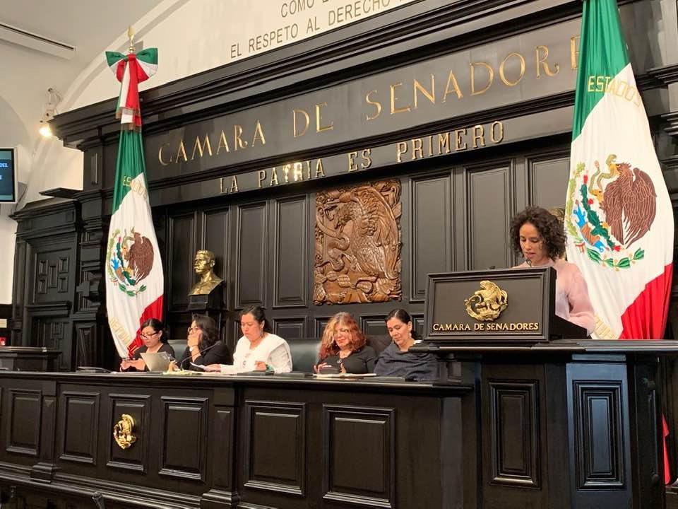 Tania Morales Primer Parlamento Mujeres de Mujeres CDMX