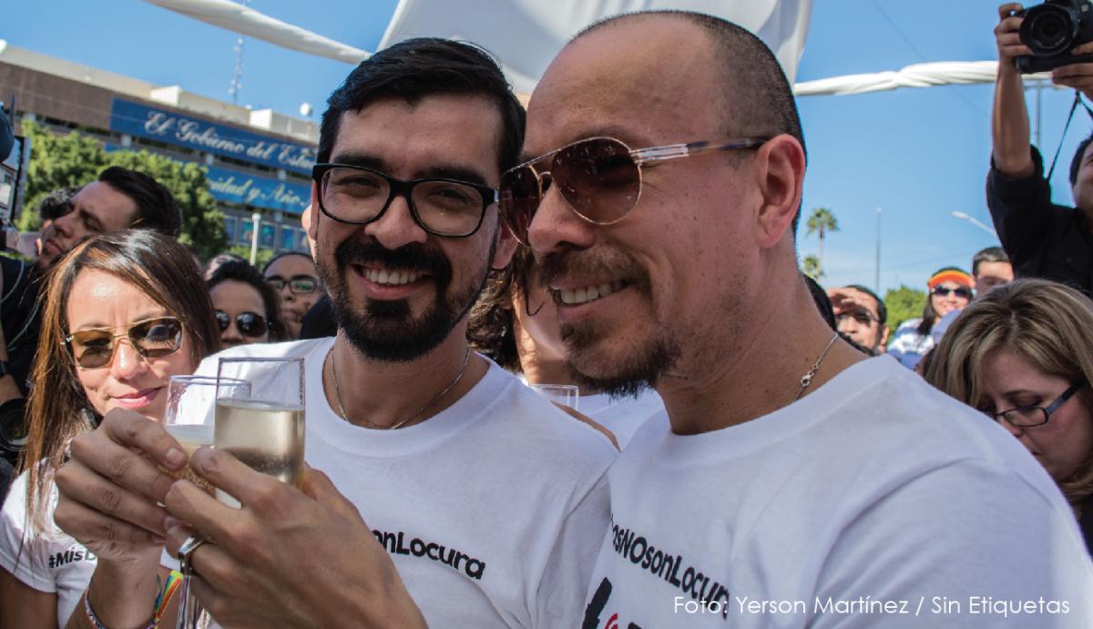 Víctor Aguirre y Fernando Urías