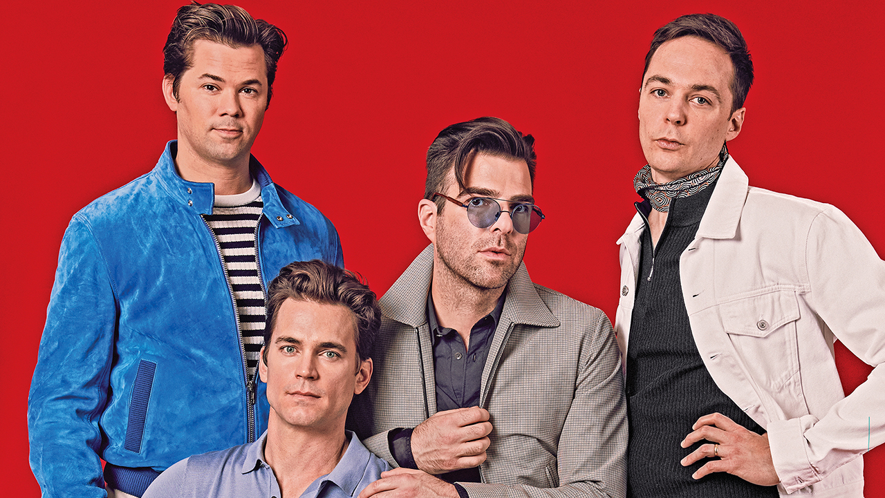 Andrew Rannells pareja gay boys band
