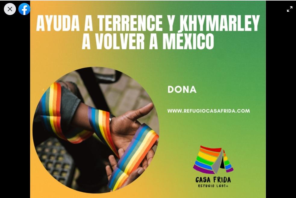 Campaña de Casa Frida para traer a Terrence y Khymarley