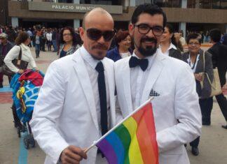 Pareja de candidatos gays de Baja California