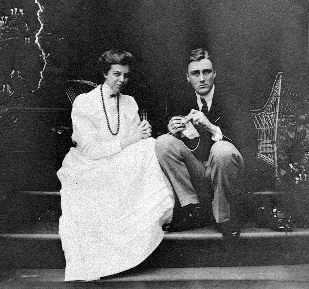 Eleanor Roosevelt y Franklin