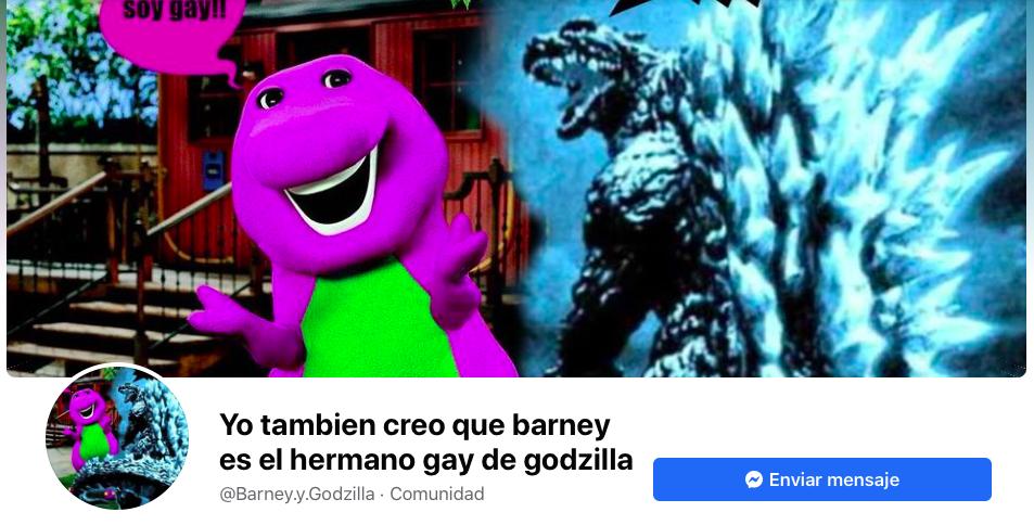 Godzilla aliado LGBT