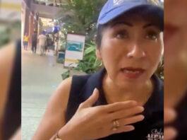 lady homofóbica le pide a pareja gay que busquen a Cristo