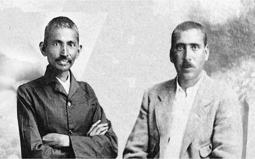 Mahatma Gandhi cartas de amor Hermann Kallenback