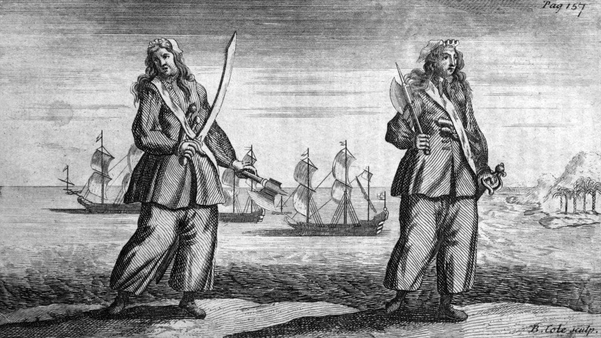piratas lesbianas Mary Read y Anne Bonny