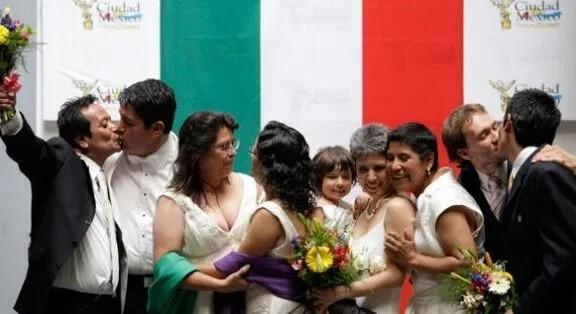 Primeras bodas gay y lésbicas en DMX