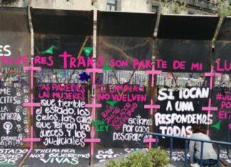 Incluyen a mujeres trans en muro de la paz