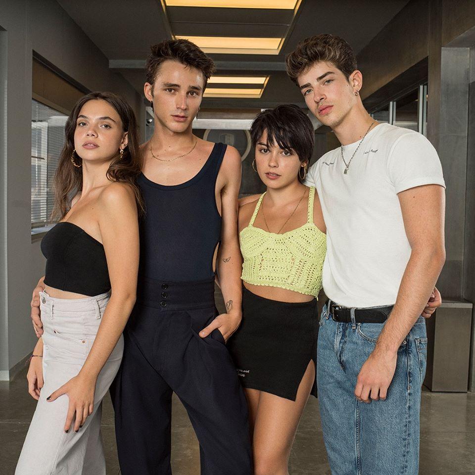nuevos actores y actrices de Élite 4