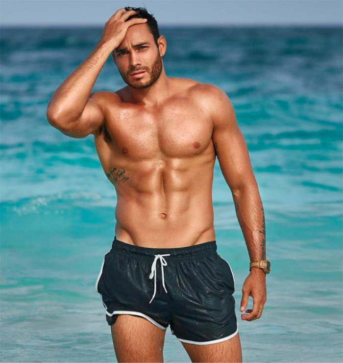 Pascal Nadaud exatlon guapos concursantes