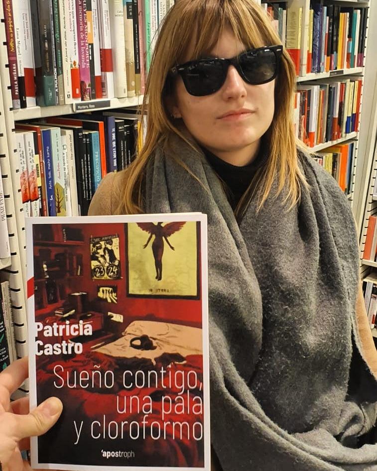 patricia castro libros bisexualidad sueño contigo una pala y cloroformo