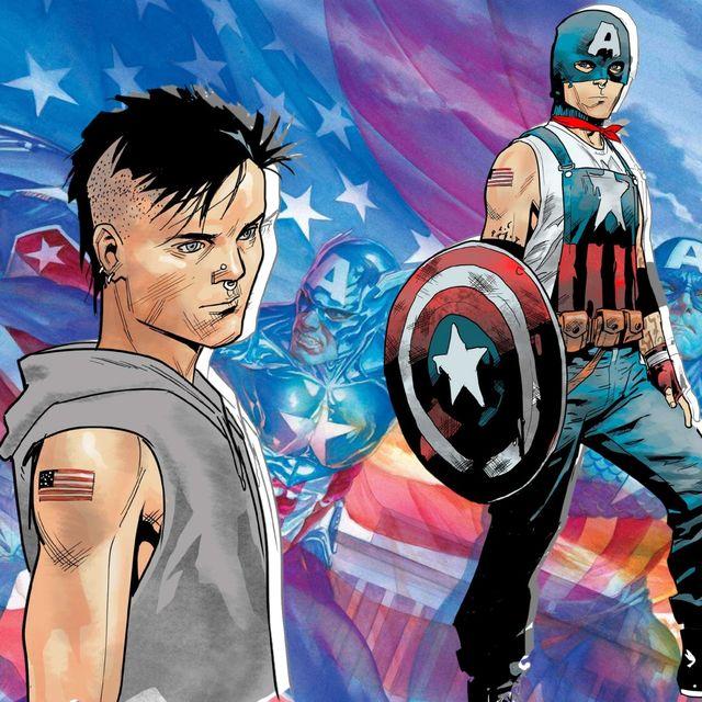 Capitán América Aaron Fisher gay