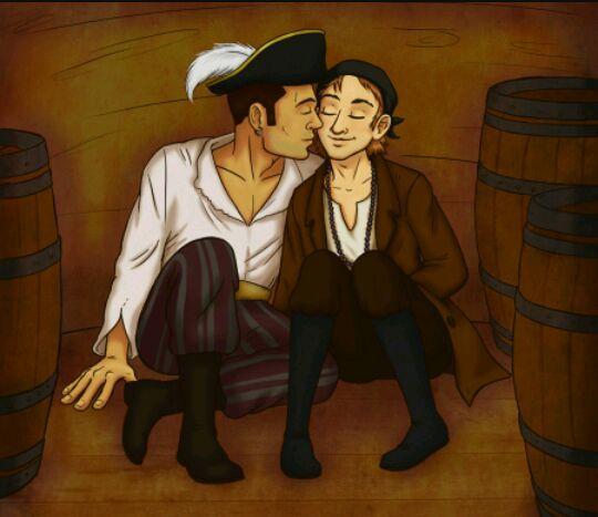homosexualidad piratas