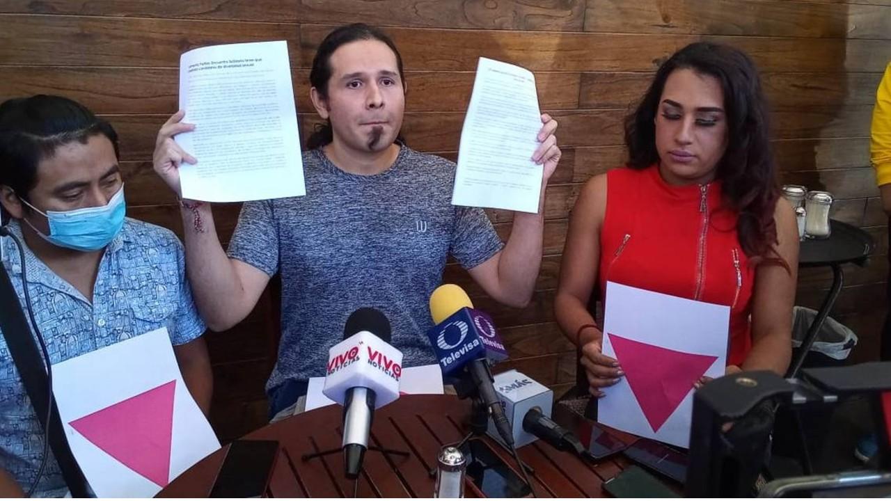 Oscar Alfredo Martínez Moreno precandidato del PES denuncia homofobia