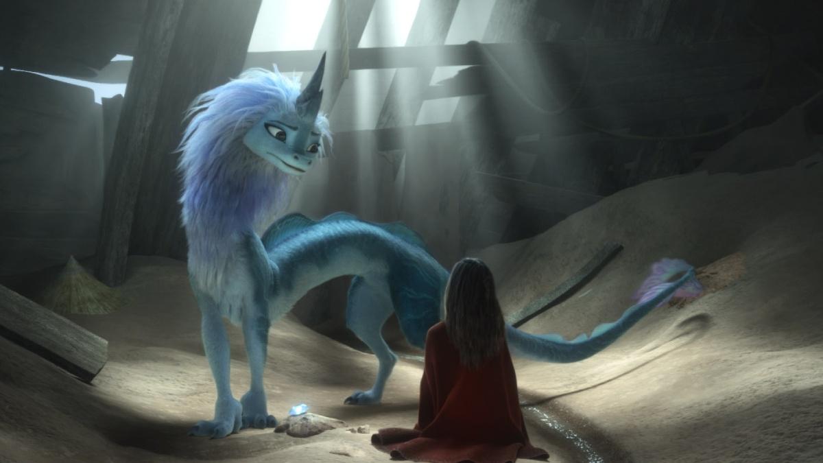 escena raya ultimo dragon disney