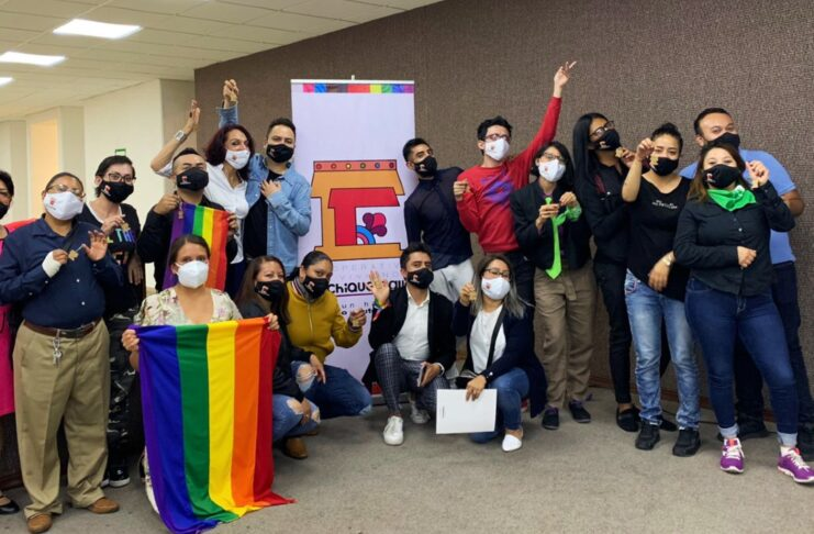 Xochiquetzalli cooperativa de vivienda para personas LGBT+