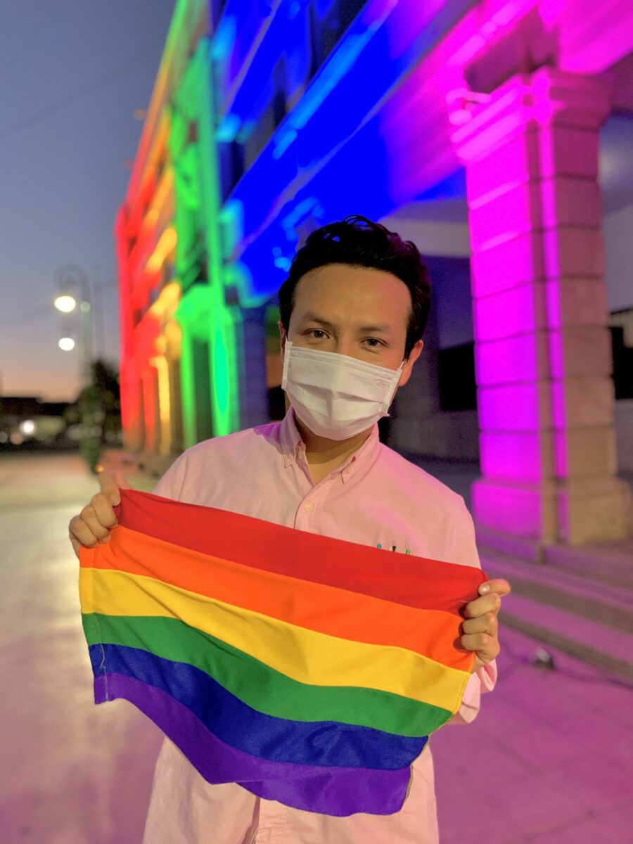 Daniel del Sol candidato LGBT+