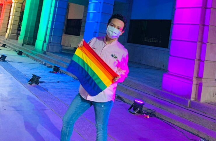 Daniel del Sol candidato LGBT+ de Sonora