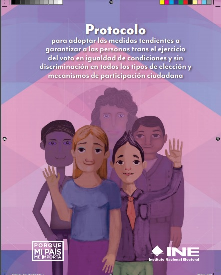 Protocolo del INE para garantizar derechos de las personas trans