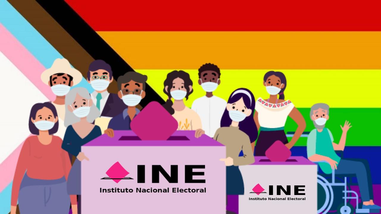 INE LGBT+ elecciones 2021