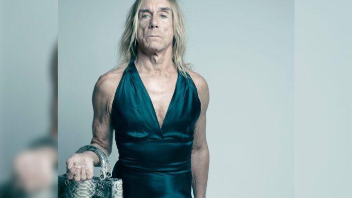 Comparan a Iggy Pop con mujer trans