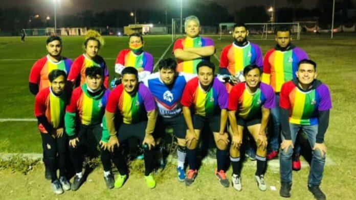 Leones LGBT+ equipo de futbol de Nuevo León
