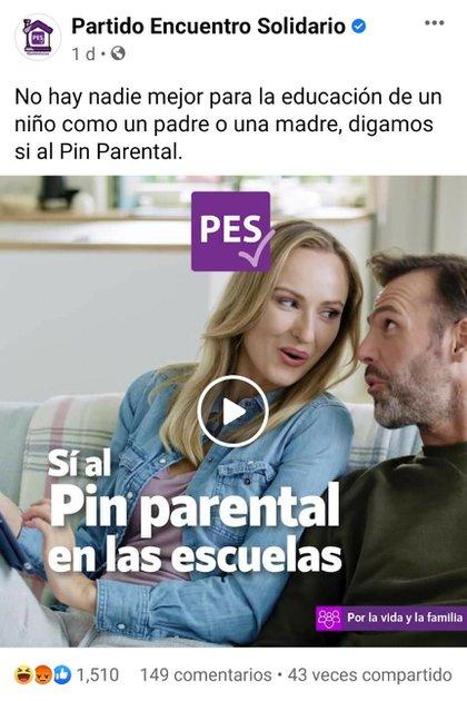 PES promueve pin parental