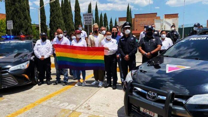 Policía de Metepec Incluyente con la comunidad LGBT+