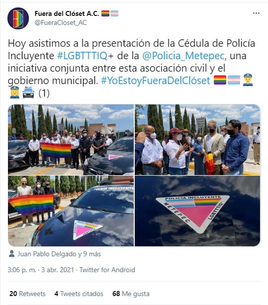 Presentan Policía Incluyente de Metepec