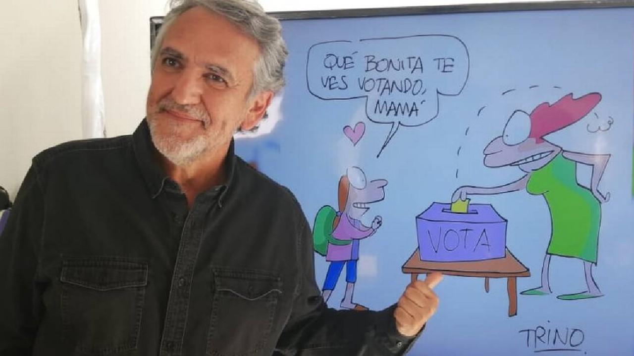 Trino Camacho hace camaña Jalisco vota seguro para el IEPC