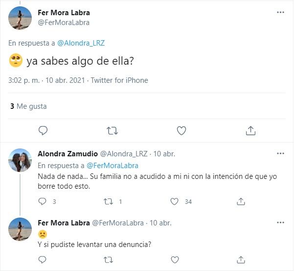 Verónica Fonseca desaparecida