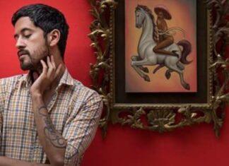 Fabián Chairez es uno de los activistas LGBT+ que hacen arte