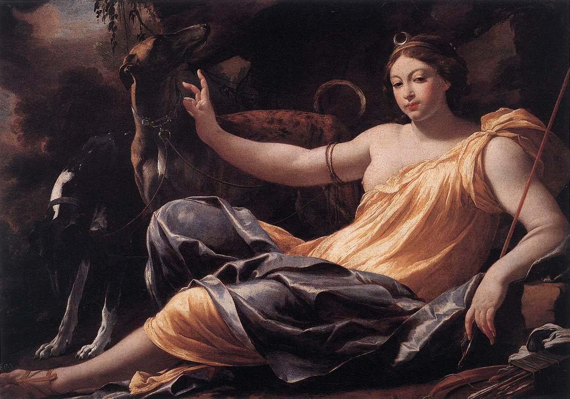 diosas romances mujeres Artemisa