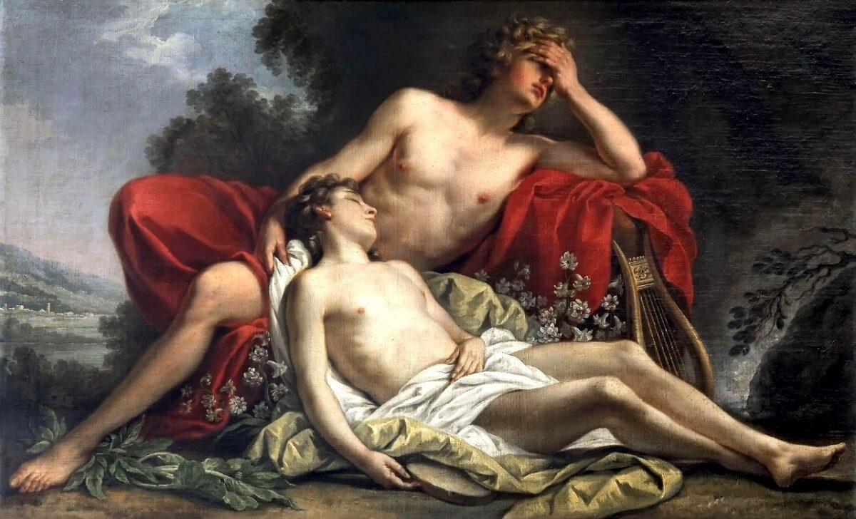 dioses LGBT+ del Olimpo Apollo