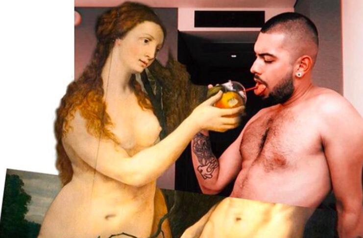 goddess fake arte mexicano collage
