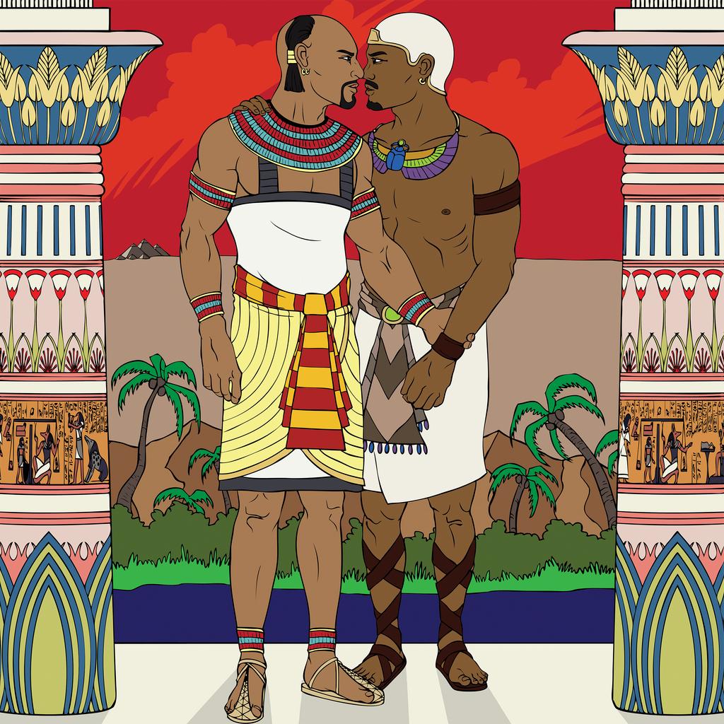 Homosexualidad en el Antiguo Egipto