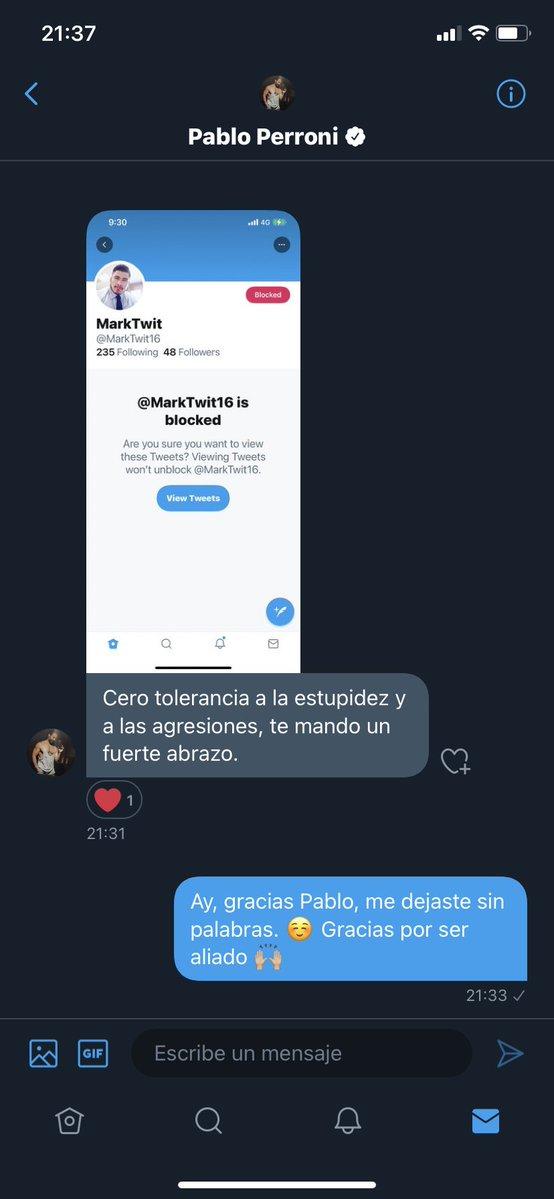 pablo perroni twitter vih