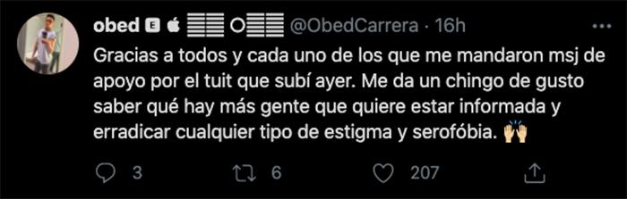 Pablo perroni twiter defensa