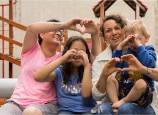 madres lesbianas familias