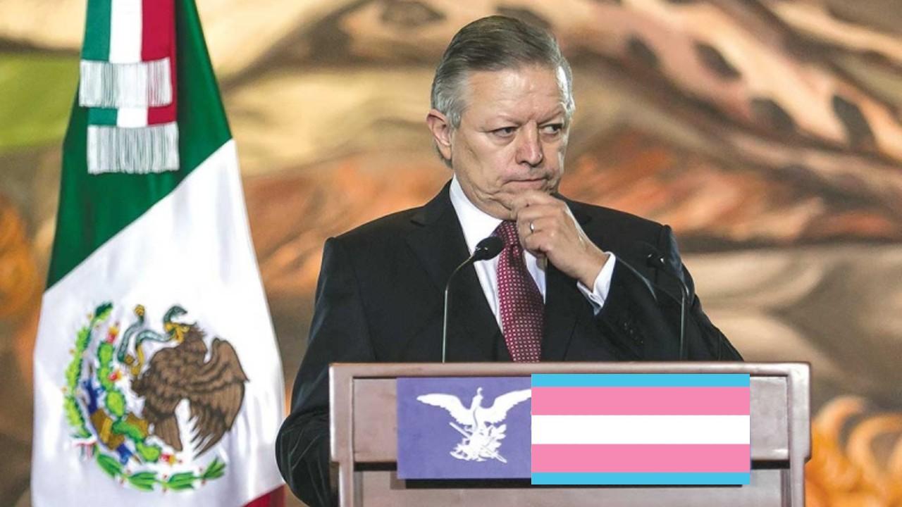 Arturo Zaldívar presidente de la SCJN a favor de los derechos de las personas trans