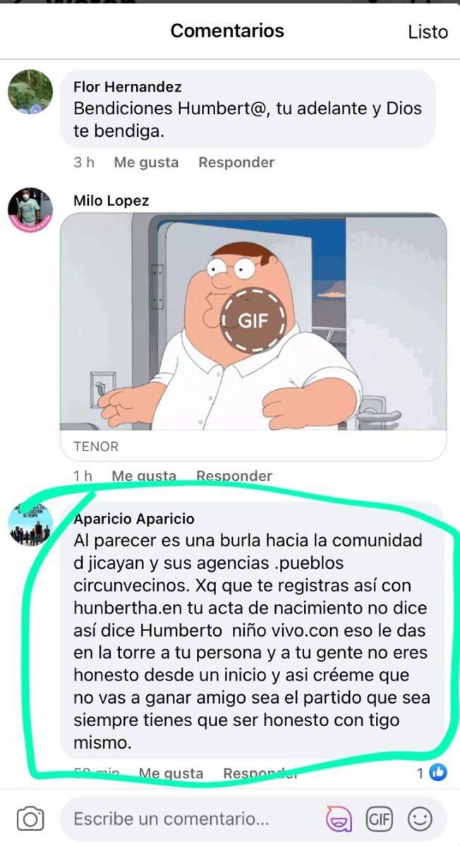 Candidata Oaxaca
